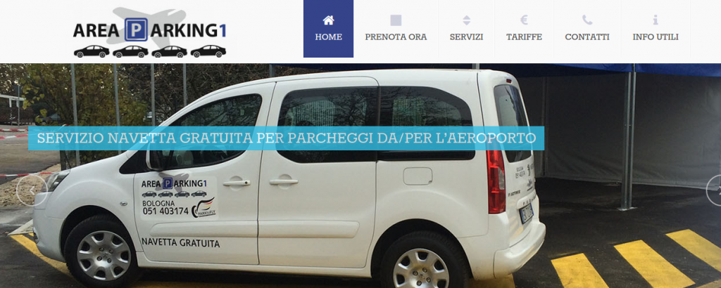NTTweb Areaparking Sito Web Base & Gestionale Online