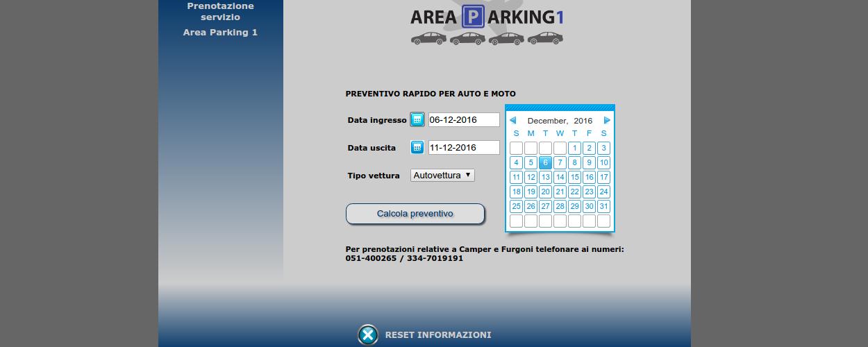 NTTweb Areaparking Siti Web Base & Gestionali Online